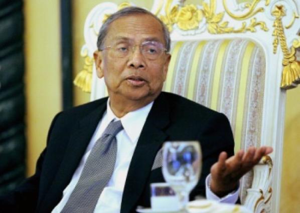 Sarawak Chief Minister Datuk Patinggi Tan Sri Adenan